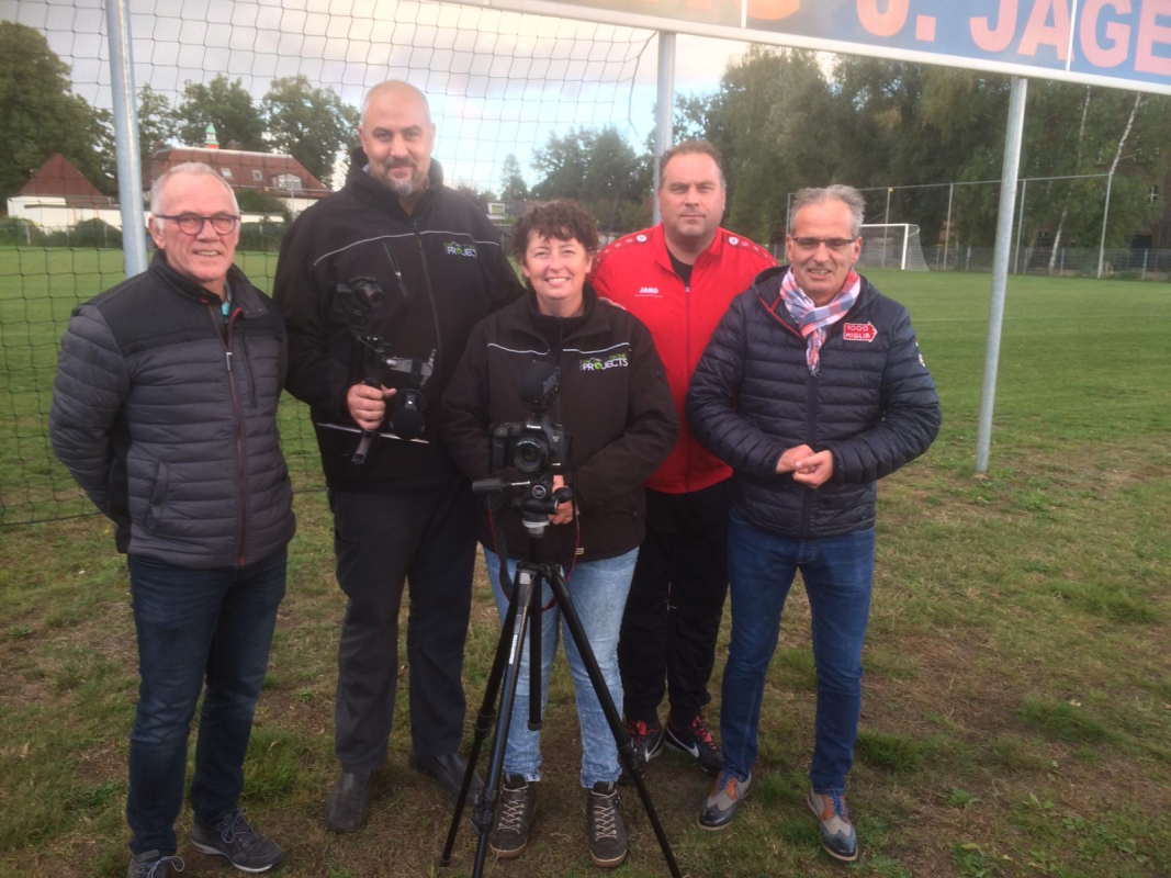 Dronebeelden training G-teams Rigtersbleek