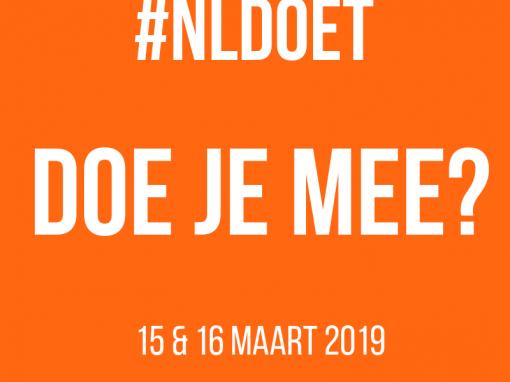 Schrijf je in voor NLdoet 2019!