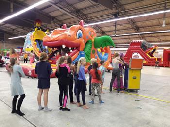 Springkussenfestival op Vliegveld Twente